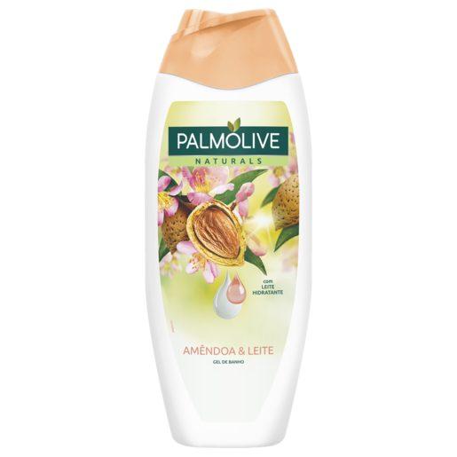 PALMOLIVE Gel de Banho Naturals Amêndoas & Leite 500 ml