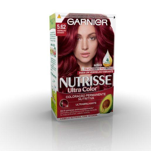 NUTRISSE Coloração Permanente Creme Vermelho Ousado 5.62 1 Un