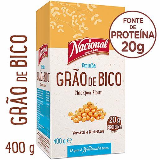 NACIONAL Farinha de Grão de Bico 400 g