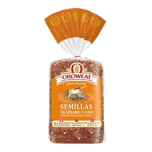 OROWEAT Pão de Forma Sementes de Sésamo E Linhaça 680 g