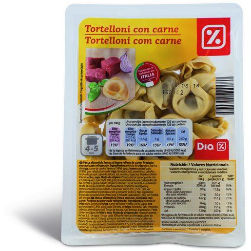 DIA Tortelloni Com Carne 250 g