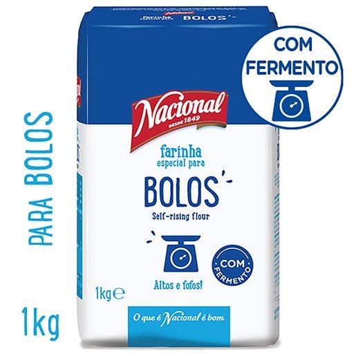 NACIONAL Farinha Para Bolos 1 kg
