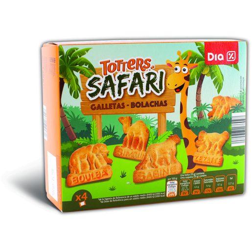 DIA Bolachas Totters Safari 140 g