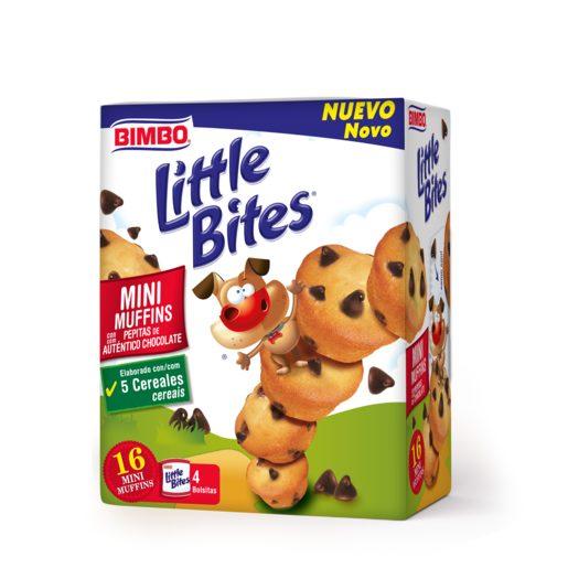 BIMBO Little Bites Mini Muffins com Pepitas de Chocolate 188 g