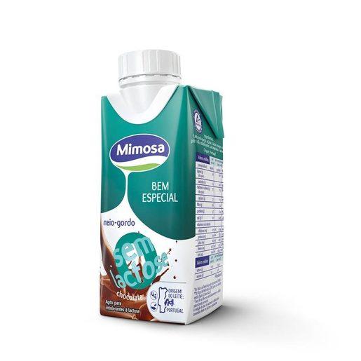 MIMOSA Leite Chocolate Meio Gordo Sem Lactose 200 ml