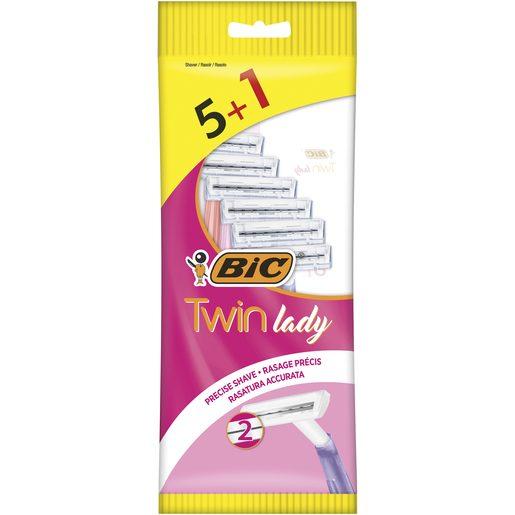 BIC Lâminas Descartável Twin Lady 5+1 Un