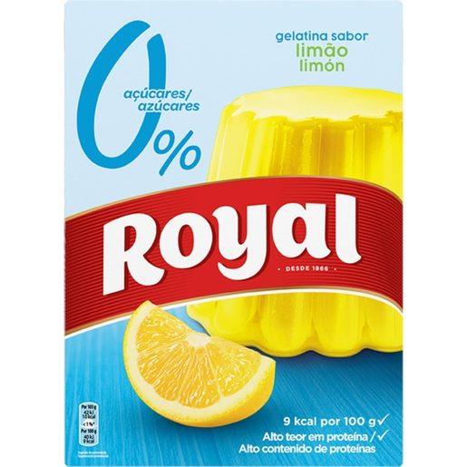 ROYAL Gelatina de Limão Light 10Kcal 31 g
