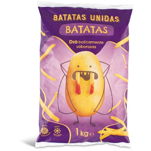BATATAS UNIDAS Batata Pré-Frita Palitos 1 kg