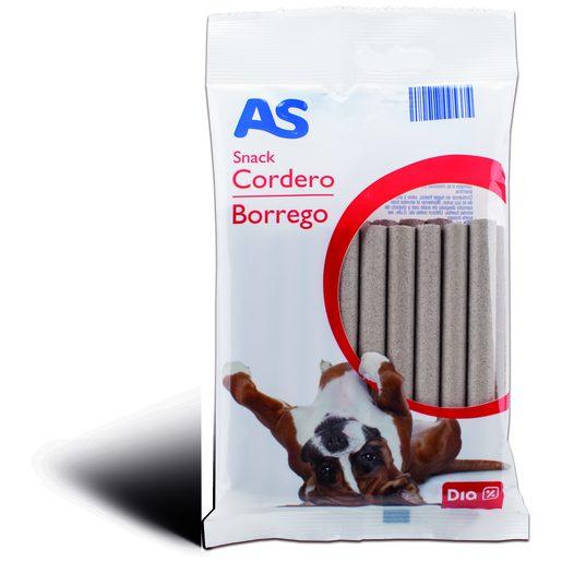 AS Snack de Borrego Para Cão 200 g
