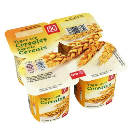 DIA Iogurte Pedaços Cereais 4x125 g
