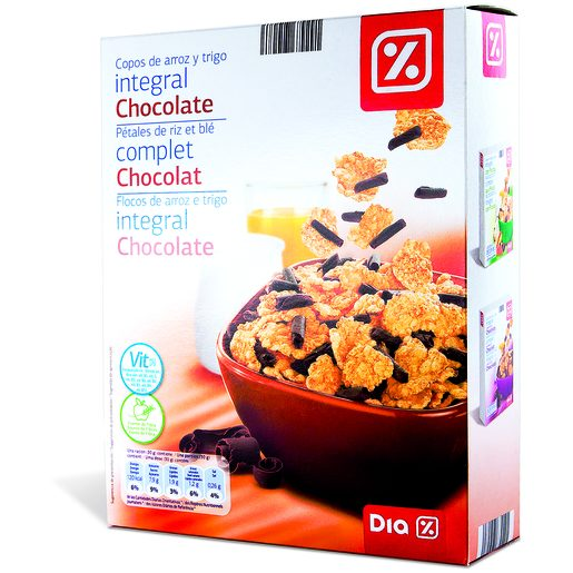 DIA Cereais Integrais de Chocolate Special Form 300 g
