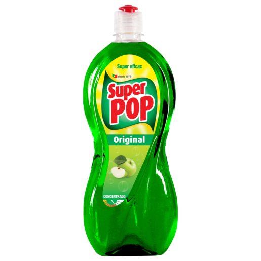 SUPER POP Detergente Manual Loiça Original Maçã Verde 700 ml