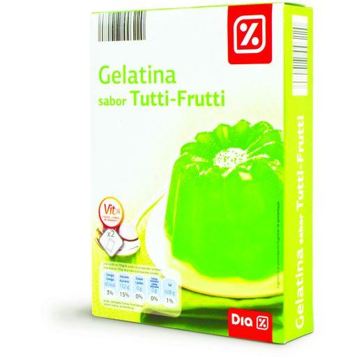 DIA Gelatina Tutti Frutti 2x85 g