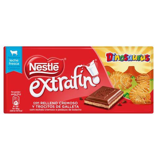 NESTLÉ Tablete de Chocolate Extrafino Dinosaurus 120 g